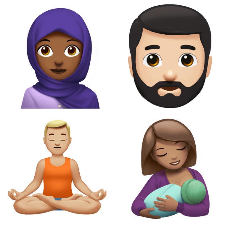 apple emoji unicode 10 3