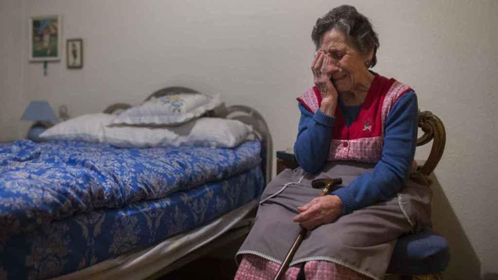 Carmen Martinez Ayudo, la vallecana desahuciada a los 85 años