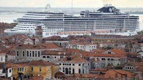 Un crucero por los canales de Venecia.