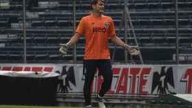 Casillas, durante un entrenamiento del Oporto en la pretemporada.