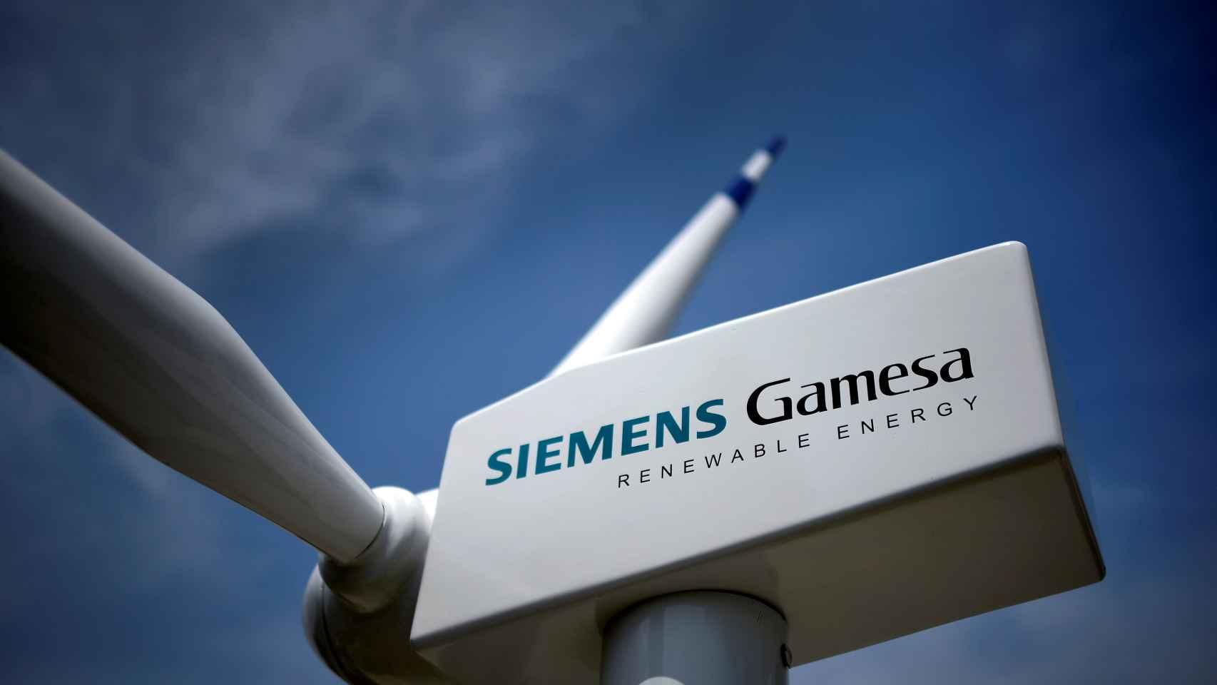 Imagen de una turbina eólica de Siemens Gamesa.