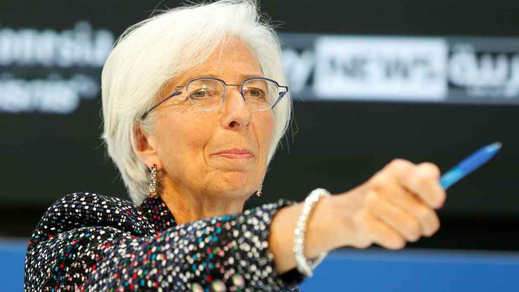 Christine Lagarde, la directora del FMI.