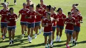 La selección femenina de fútbol prepara la Eurocopa