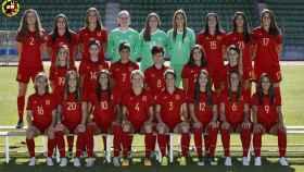 Foto oficial de España en la Eurocopa 2017