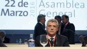 Ángel María Villar en una Asamblea General de la RFEF el pasado año.