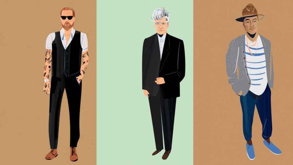 Iconos de estilo según Dan Jones. | Ilustraciones de Libby Vanderploeg.