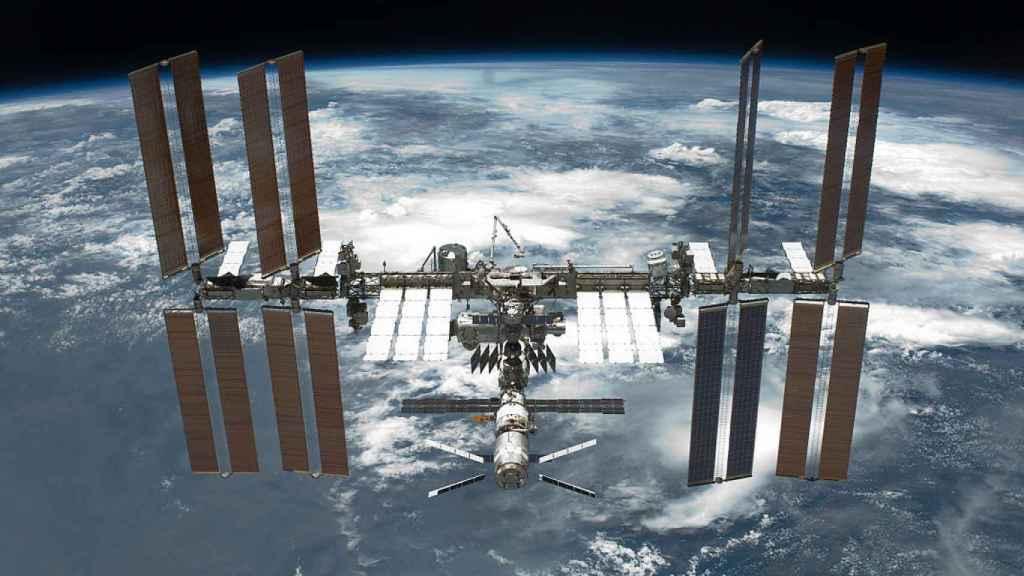 Imagen de la Estación Espacial Internacional.