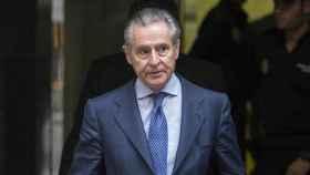 Miguel Blesa a la salida de la Audiencia Nacional