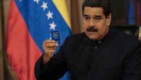 Maduro, durante una intervención