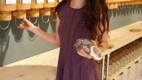 Stefanie compra siempre a granel, en tiendas donde venden productos sin empaquetar.
