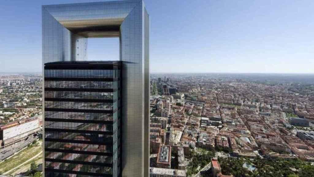 La torre Foster de Madrid.