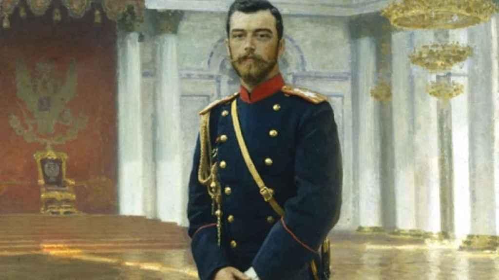 Retrato de Nicolás II, (1896). | Foto: Museo Estatal Ruso de San Petersburgo.