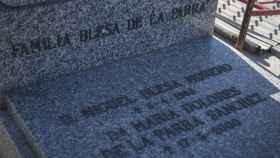 El panteón familiar de Miguel Blesa en Linares
