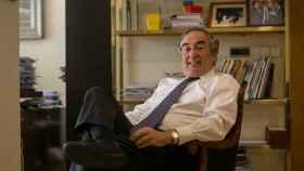 Rosell posa en su despacho de la organización empresarial que preside.