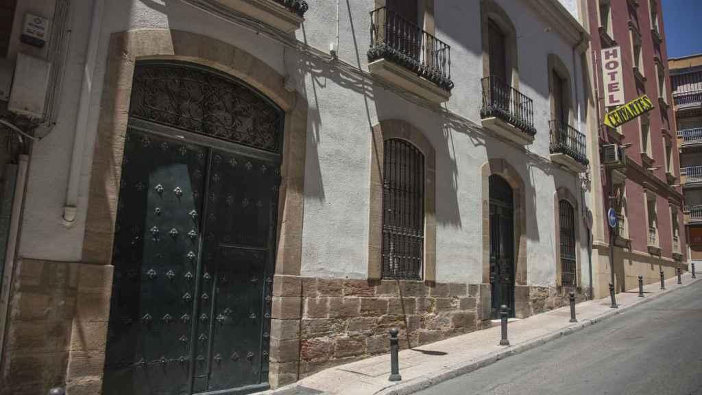 Casa familiar de los Blesa de la Parra en la calle Cervantes de Linares (Jaén).