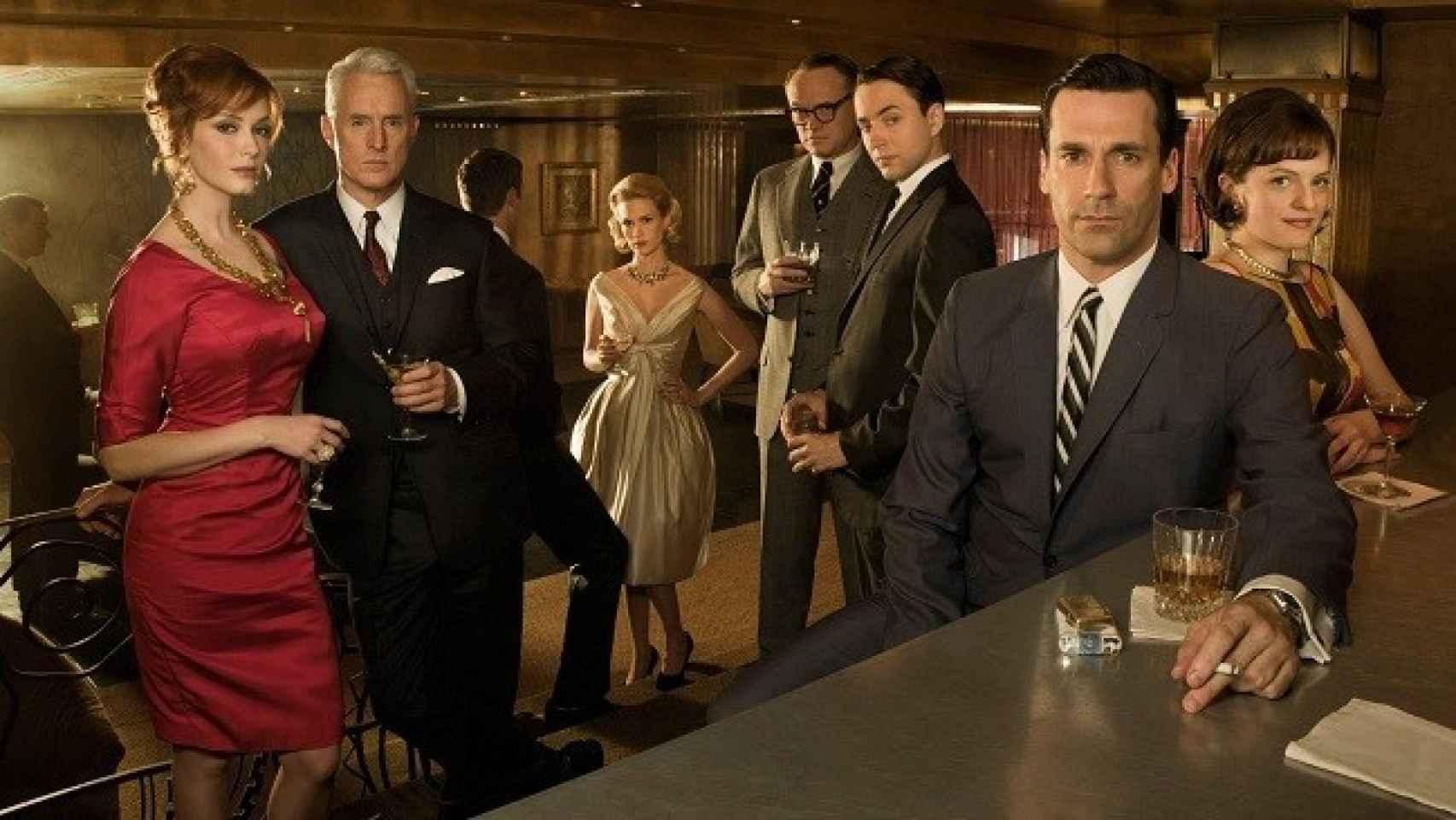 Mad Men, serie que podrá verse en la nueva plataforma por  Internet de AMC en España.