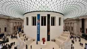Interior del Museo Británico.