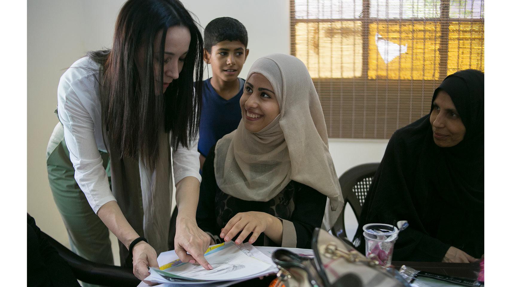 Visita a los centros de Alianza por la Solidaridad en Jordania