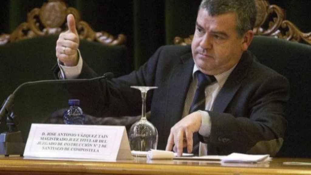 El juez José Antonio Vázquez Taín.