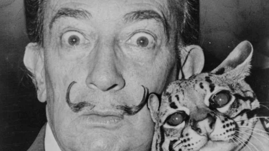 Salvador Dalí, el surrealista más fotogénico.