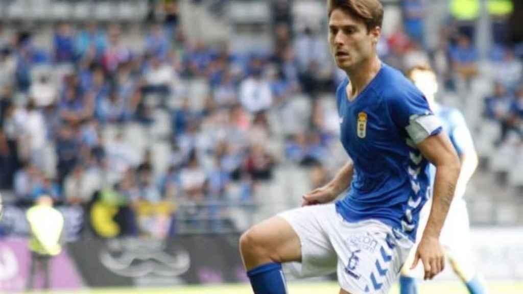 Jon Erice, el futbolsita al que ha despedido el Real Oviedo.