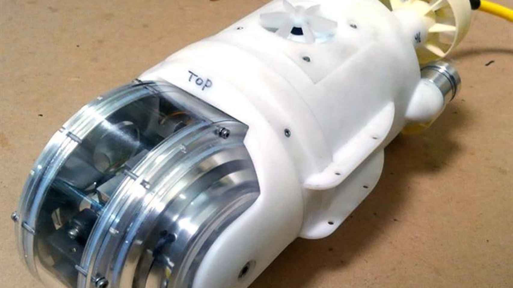 robot acuatico fukushima central nuclear reactor 3
