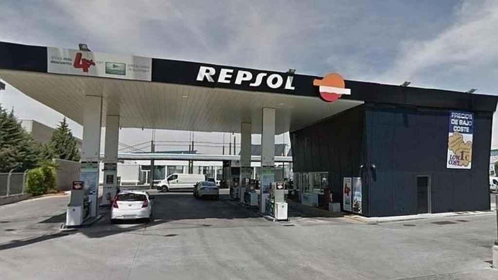 Una estación de servicio de Repsol, en una imagen de archivo.