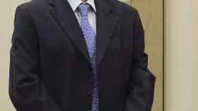 Jaime Caruana durante su comparecencia en la Comisión de Investigación del Congreso de los Diputados.