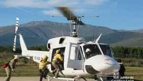 incendio helicoptero