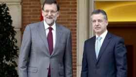 Rajoy y Urkullu durante una reunión.