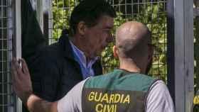 González el día de su detención, el pasado 19 de abril.