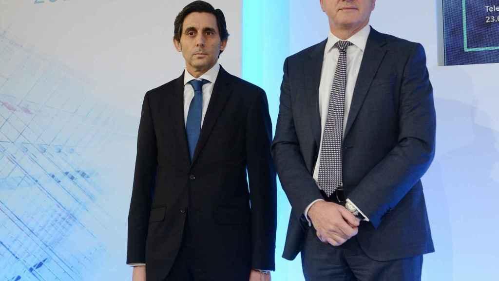 Pallete, junto a Ángel Vilà.
