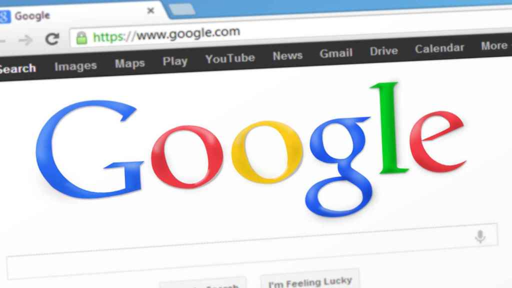 Buscador en Google Chrome.