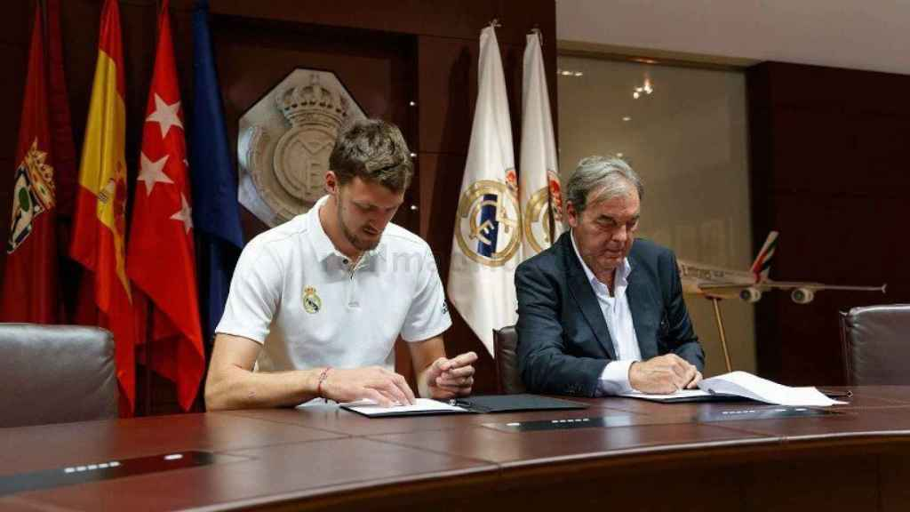 Kuzmic firma como nuevo jugador de Madrid