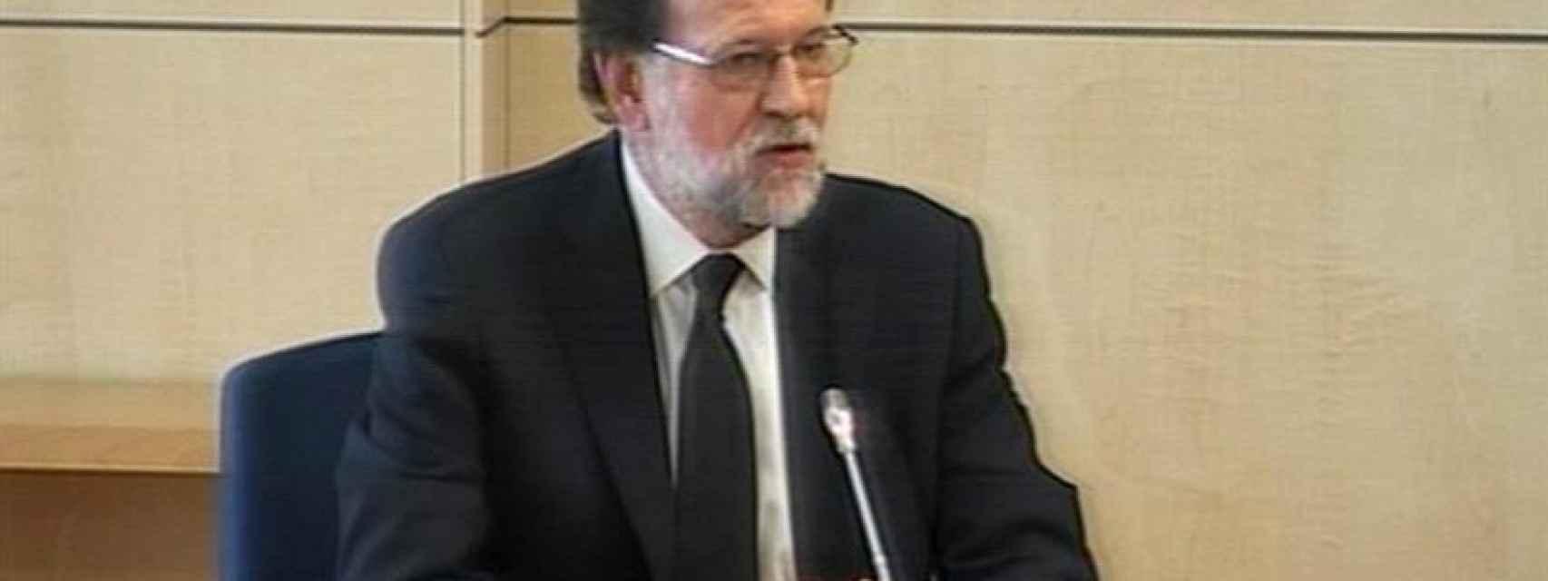 Rajoy declara como testigo.