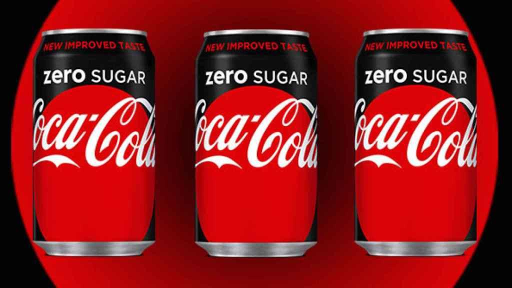 El envase de la Coca-Cola Zero Sugar.