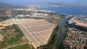 Planta solar de Endesa en Cádiz.
