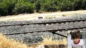 Lucía Vivar, de tres años, ha sido encontrada muerta a primera hora de este jueves sobre la vía del tren
