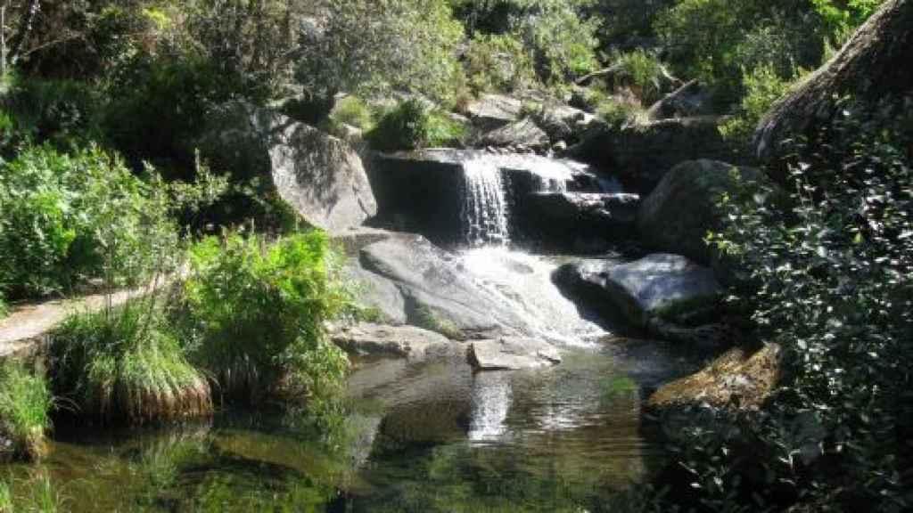 Cascada del Río Magros.