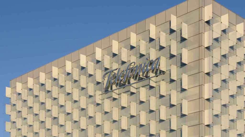 Uno de los edificios centrales del Distrito T de Telefónica, en una imagen de archivo,