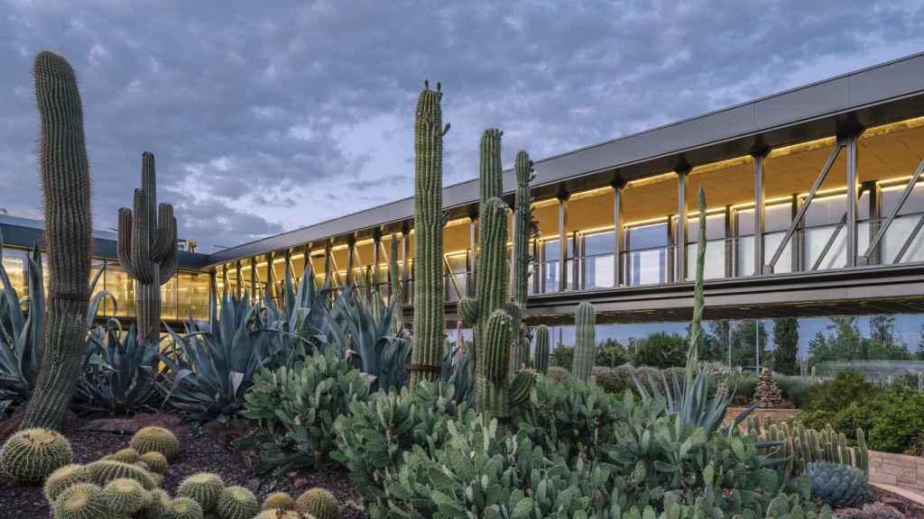 Una imagen del edificio de Desert City.   Foto: Imagen Subliminal, Miguel de Guzmán y Rocío Romero.