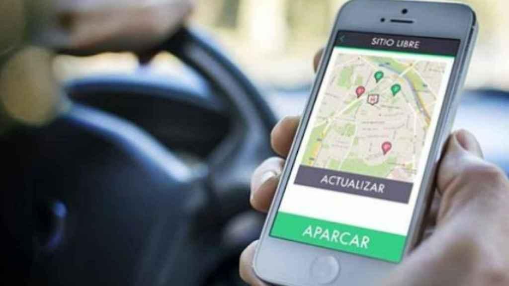 Wazypark desarrolló una app para el móvil.