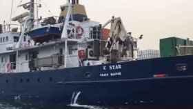 El C-Star, fletado por Defend Europe, ha sido detenido por los autoridas de Chipre