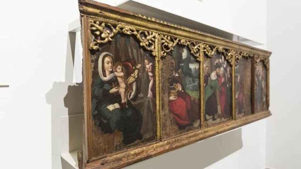 Retablos, cuadros y murales conforman el grueso del tesoro secuestrado de Sijena