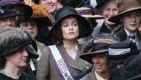 Helena Bonham Carter en Sufragistas, película en la que interpreta a Edith Margaret.
