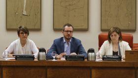 Un momento de la reunión de la Comision de Igualdad sobre pacto Violencia Género.