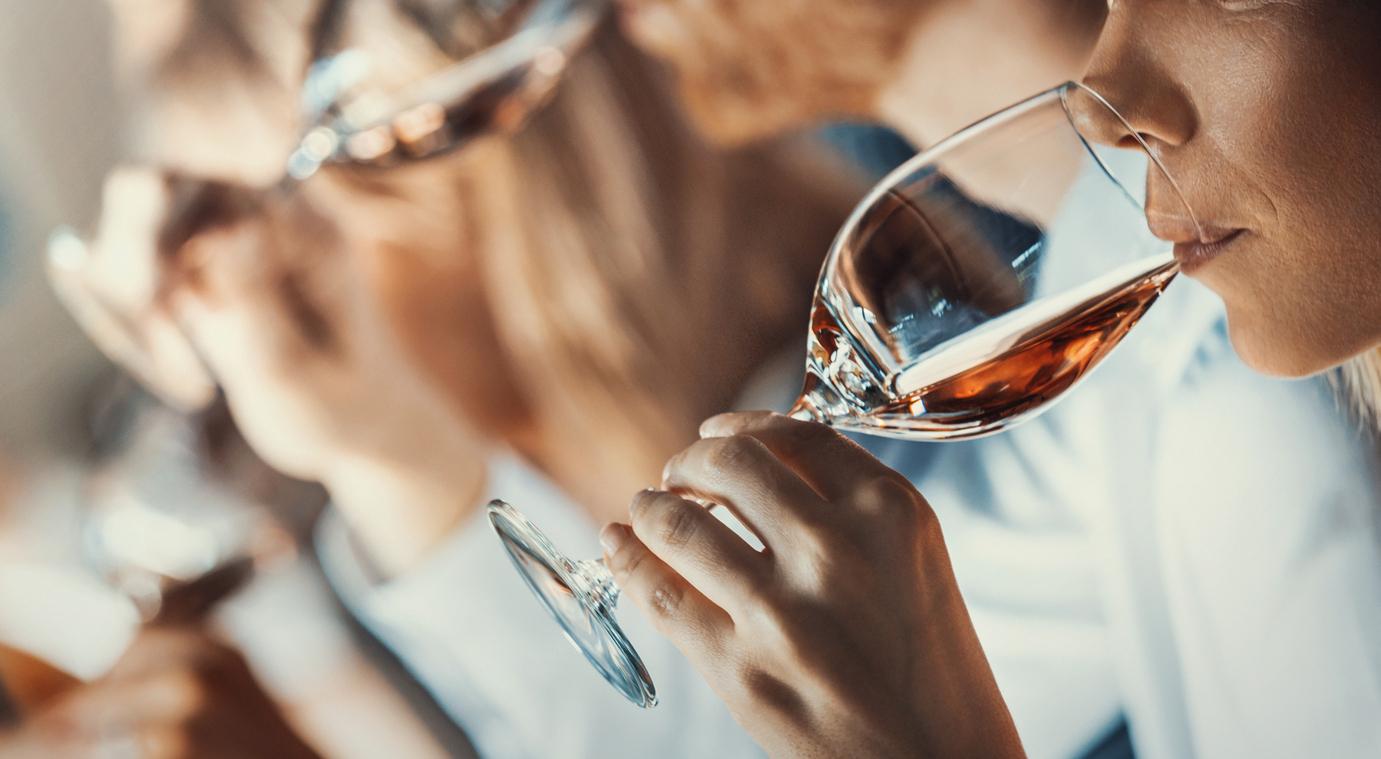 Winetasting event.