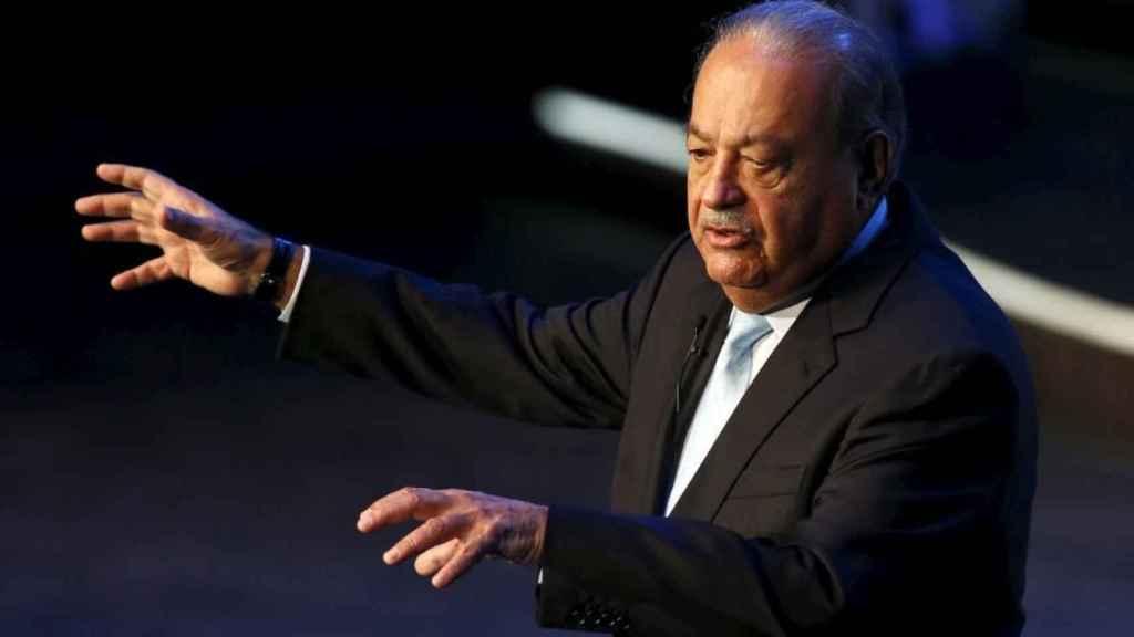 El empresario mexicano Carlos Slim tiene el control de FCC y Realia.