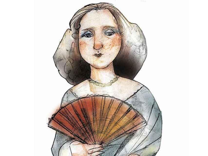 Retrato de María Andrea Casamayor y de La Coma.