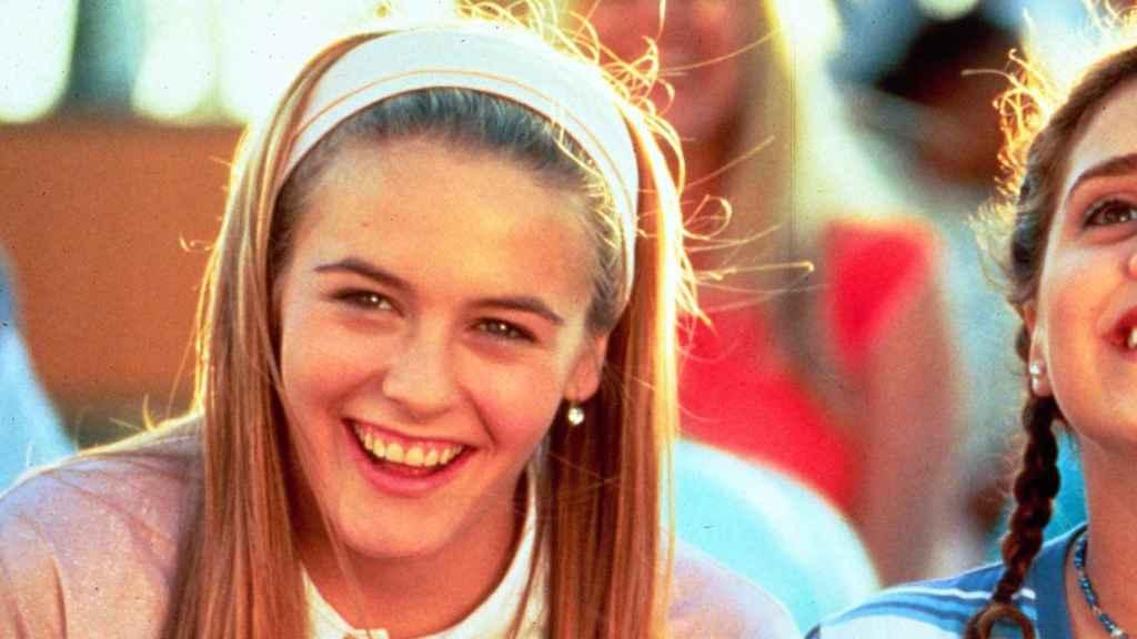Una joven Alicia Silvestones en la película Fuera de Onda (1996).   Foto: GTRES.